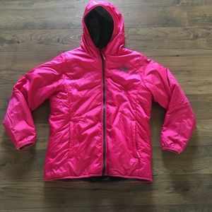 North Face Reversible Perseus Jacket Girls XL 18
